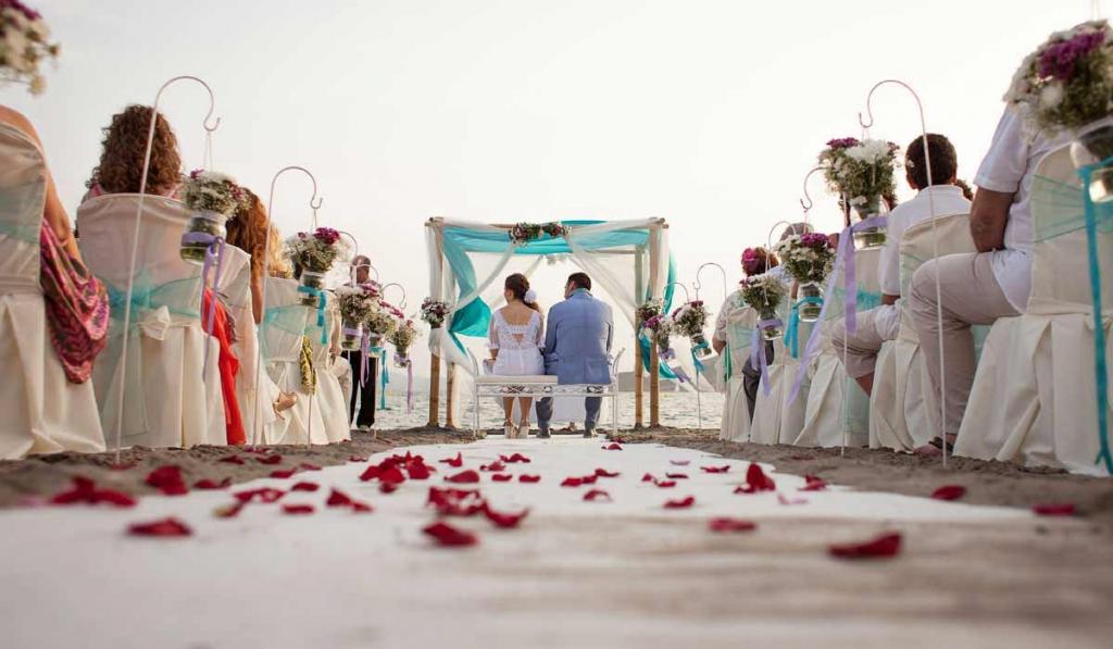 Reportajes de boda en la playa