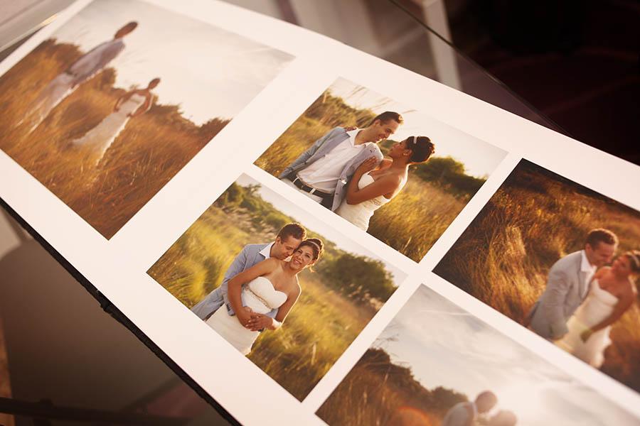 La maquetación del álbum | Reportajes de boda