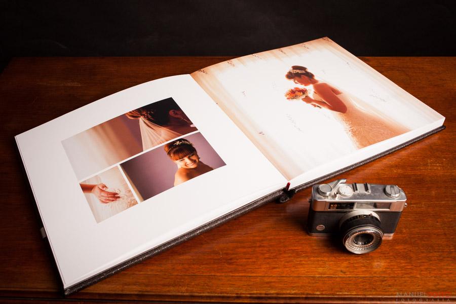 album de boda, Laura y Fran
