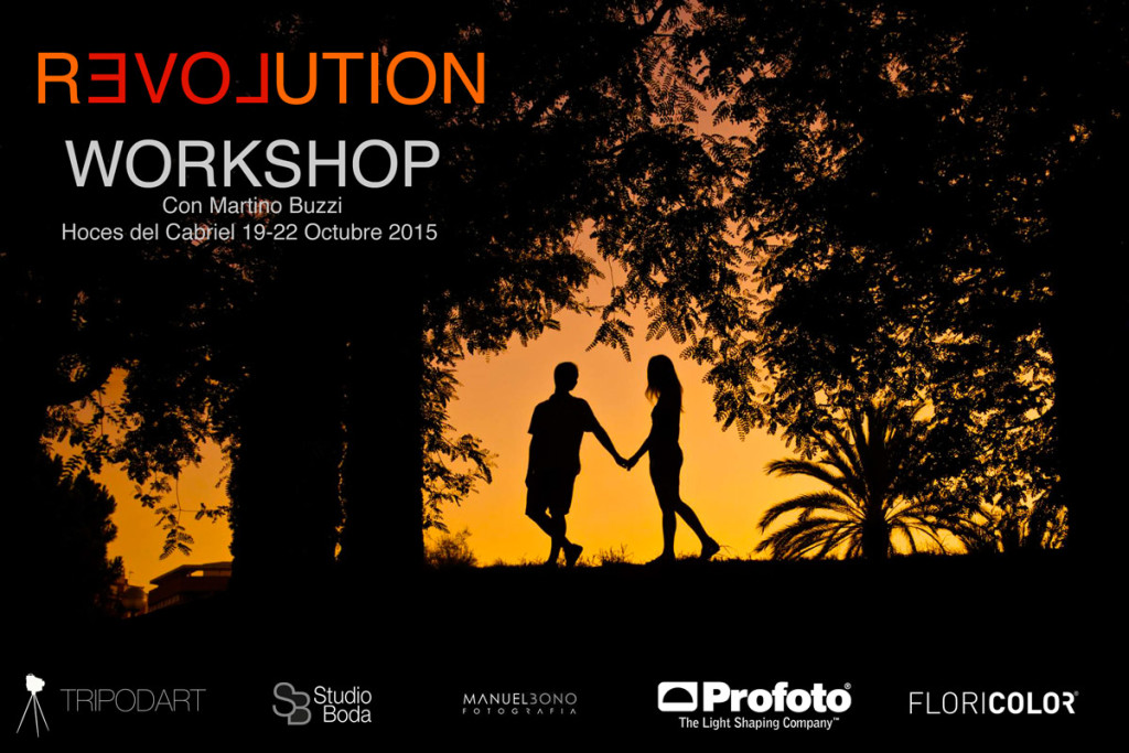 Revolution Workshop – Taller de fotografía de Boda