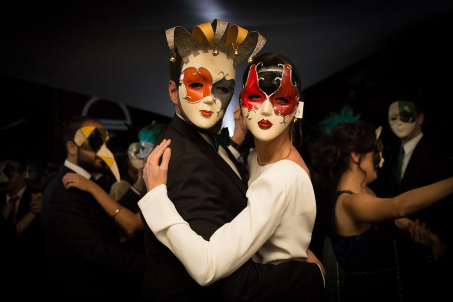 boda caranaval de venecia