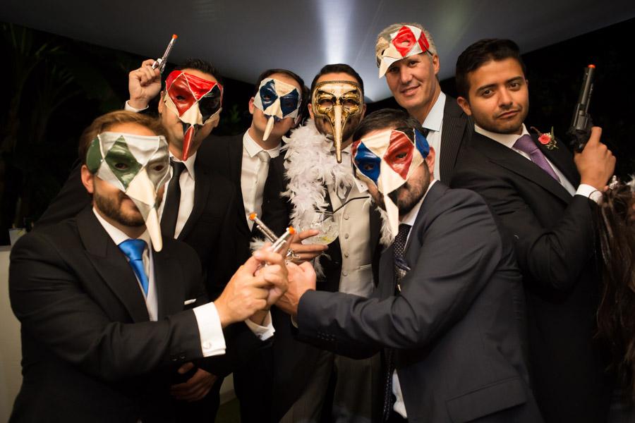 boda mascaras venecianas