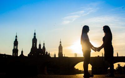 Preboda en el parque del agua | Zaragoza | fotógrafo de bodas