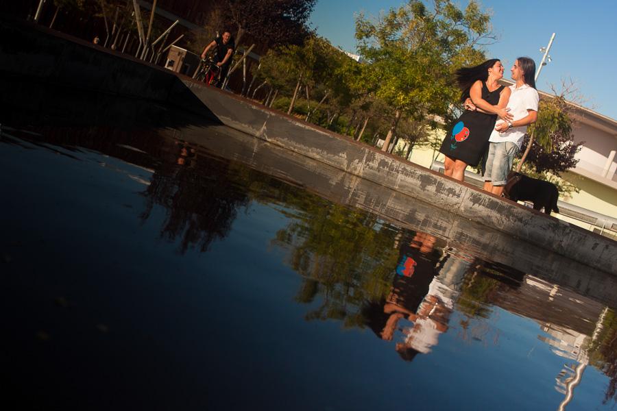 fotos Preboda en el parque del agua