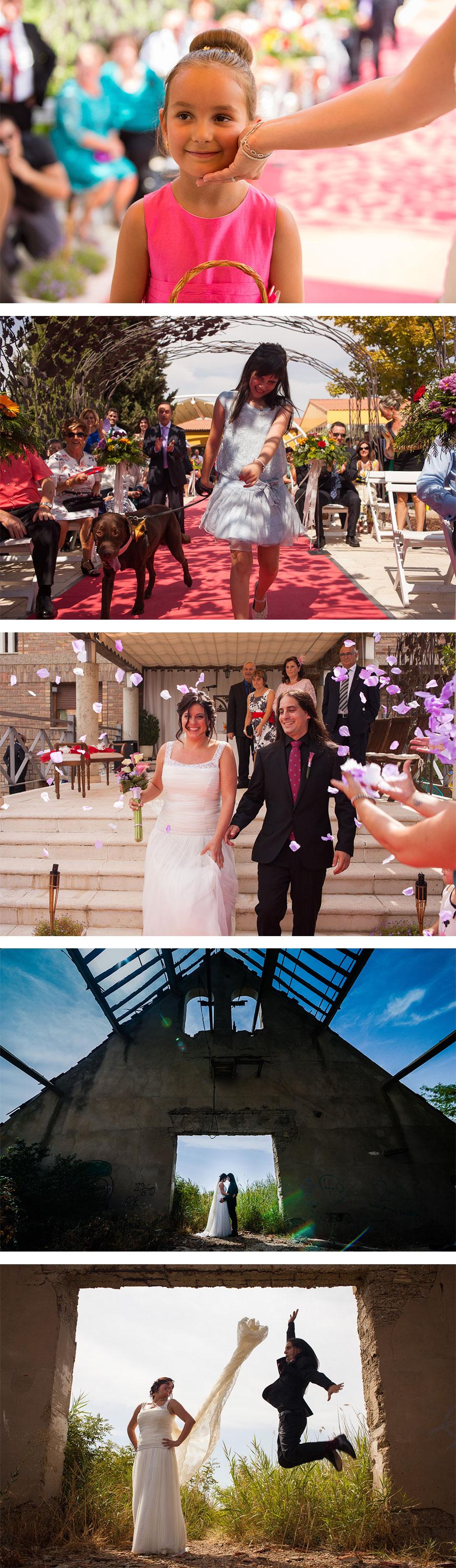 Reportaje de boda en fina el lebrel