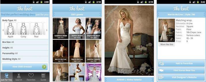 App vestido de novia