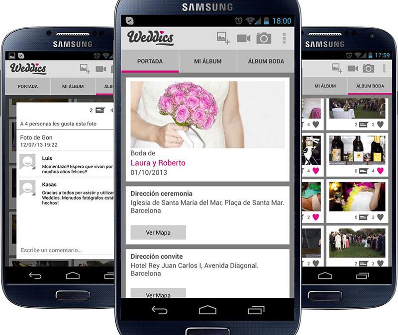 Las mejores aplicaciones para bodas