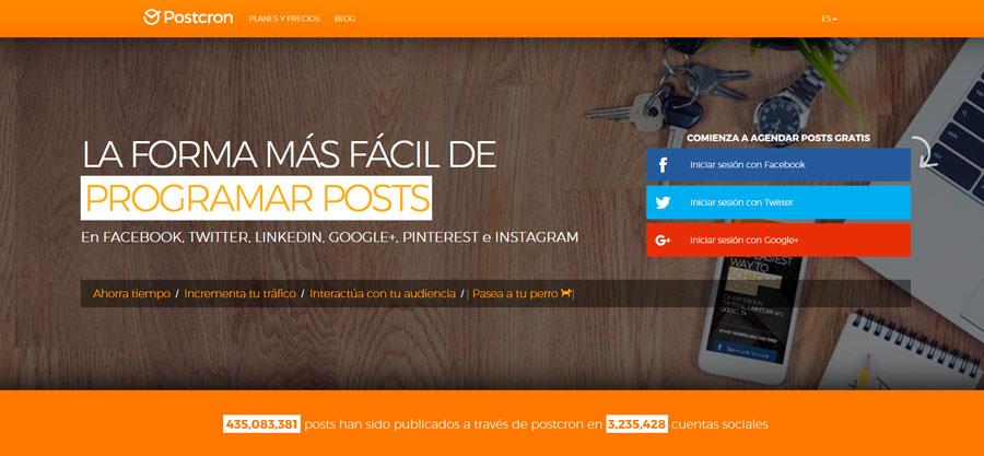 Postcron la herramienta para fotógrafos