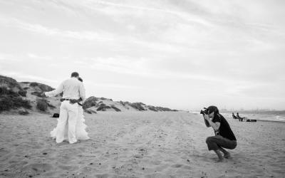 Como trabaja un fotógrafo de bodas