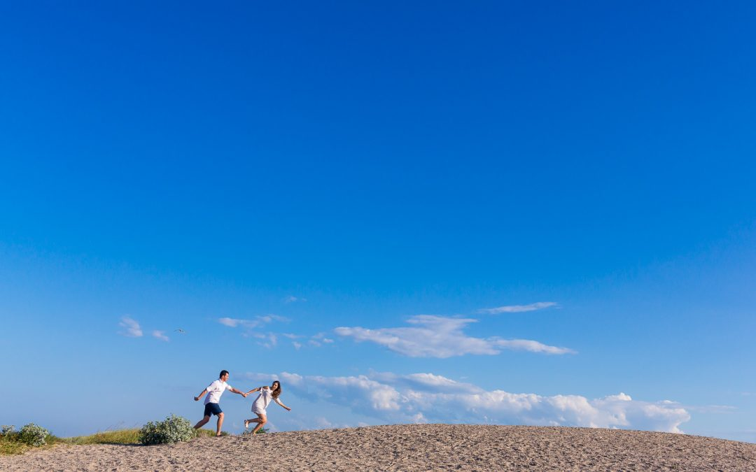 Reportaje Preboda en el Saler – Fotografías de pareja en la playa