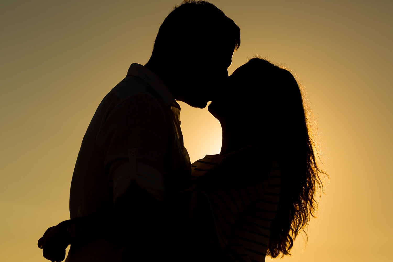 Sesión de pareja al atardercer